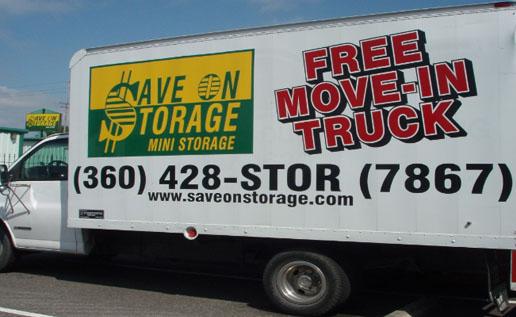 save on storage rental truck